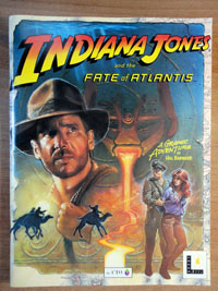 Indiana Jones and the Fate of Atlantis - Hint Book immagine 1